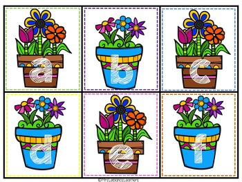 Spring Letter Matching- Capital LowerCase