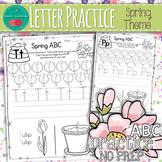 Spring Letter Practice