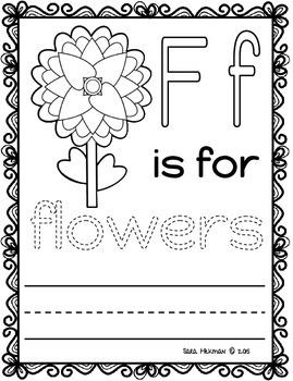 Spring: Letter Printables