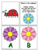 Spring Letter Recognition Center or Whole Group Game