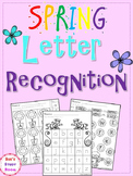 Spring Letter Recognition for PreK and K
