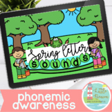 Spring Letter Sounds Boom Cards™ With Audio