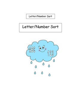 Spring Letter and Number Sort