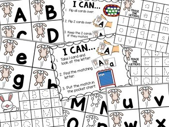 Spring Alphabet Center - Literacy Center