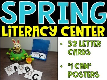 Spring Alphabet Center - Literacy Center