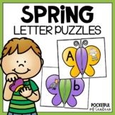 Spring Letters and Beginning Sounds Puzzles