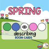 Spring Leveled Describing Boom Cards