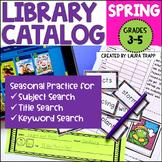 Destiny Library Catalog Practice: Spring Edition