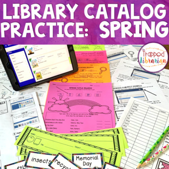 Destiny Library Catalog Practice: Spring Edition