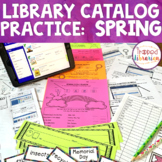 Library Catalog Practice   Spring Edition