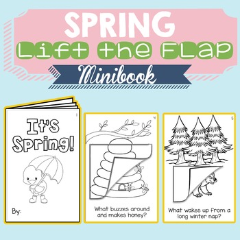 Spring Lift-the-Flap Minibook