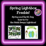 Spring Lightbox Inserts Freebie