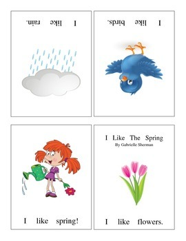 "Spring ""Like"" Fluency Book"
