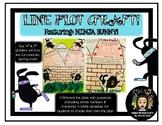 Spring Line Plot Craft- Featuring: Ninja Bunny!