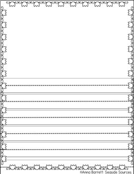 Spring Lined Paper Pack