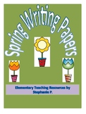 Spring Lined Writing Paper K-1