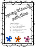 Spring Literacy Activities
