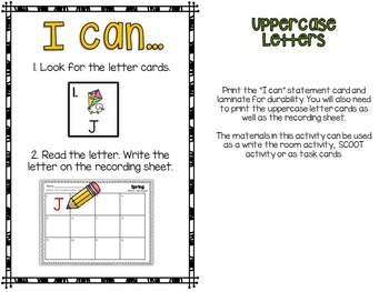 Spring Literacy Activities / Spring Write the Room