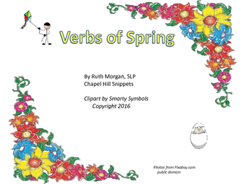 Spring Activity Packet--Great for Special Education/Autism and SLP