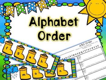 Spring Literacy Center - Alphabet Order