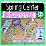 Spring Literacy Center - Build Word Family Flowers