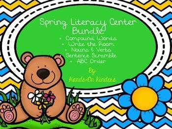Spring Literacy Center Bundle