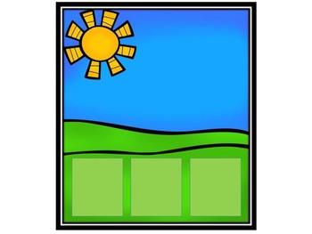 Spring Literacy Center - CVC Word Building Cards