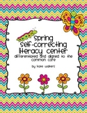 Spring Literacy Center {Differentiated & Aligned CCSS cvc,