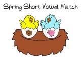 Spring Literacy Center - Short Vowel Sort
