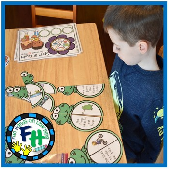 Spring Literacy Center - Simple Sentence Puzzles