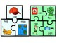 Spring Literacy Center - Word Family / Rhyming Puzzles