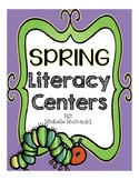 Spring Literacy Centers {parts of speech, homophones, antonyms/synonyms, & more}