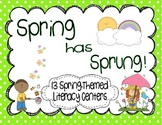 Spring Literacy Centers {13 Centers and 6 Writing Activities}