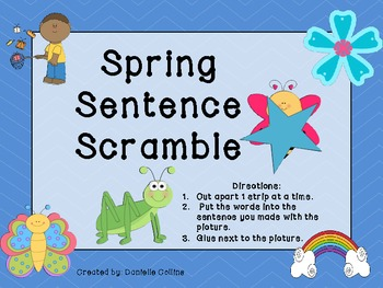 Spring Literacy Centers-differentiated