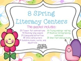 Spring Literacy Centers 8 Language Arts Centers