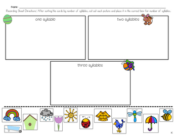 Spring Literacy Centers