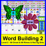 Spring Literacy Centers: Catch A Butterfly-Onsets/Rimes-More Complex-Level 2