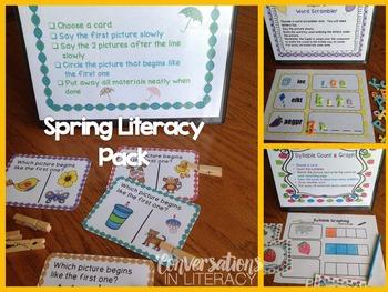 Spring Literacy Centers K-1