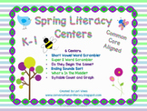 Spring Literacy Centers K-1