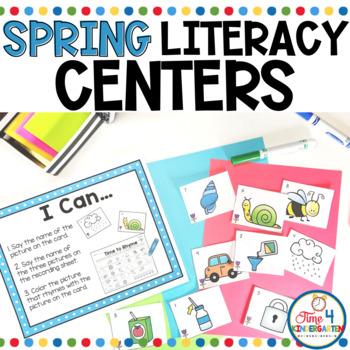Spring Literacy Centers Kindergarten