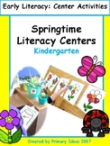 Spring Literacy Centers: Kindergarten: Distance Learning