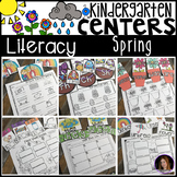 Spring Literacy Centers {CCSS}