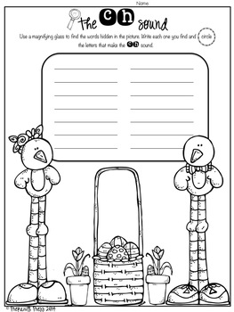 Spring Literacy For Littles FREEBIE!!!