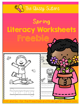 Spring Literacy Freebie