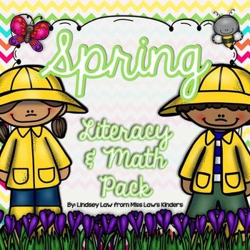 Spring Literacy & Math Pack