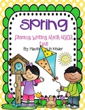 Spring - Literacy, Math, and Writing MEGA Unit