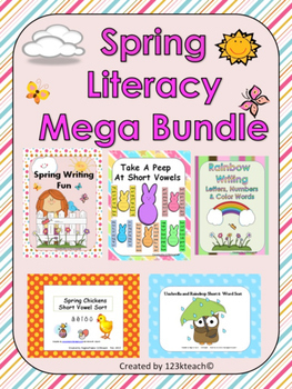 Spring Literacy Mega Bundle