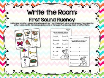 Spring Literacy Pack
