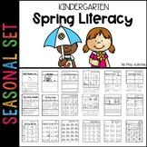 Spring Literacy Printables Kindergarten