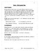 Spring Literacy Packet #1
